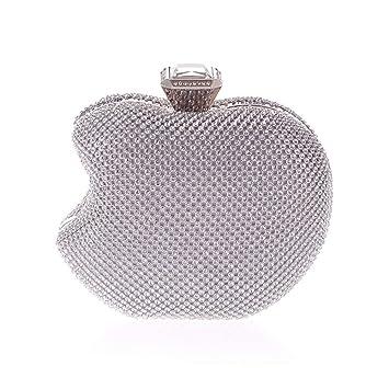 5482d5aaf672f Zhongsufei Umschlag-Art-Beutel-Kupplung Business Damen Damen Apple Form  Abendtasche Clutch Handtasche