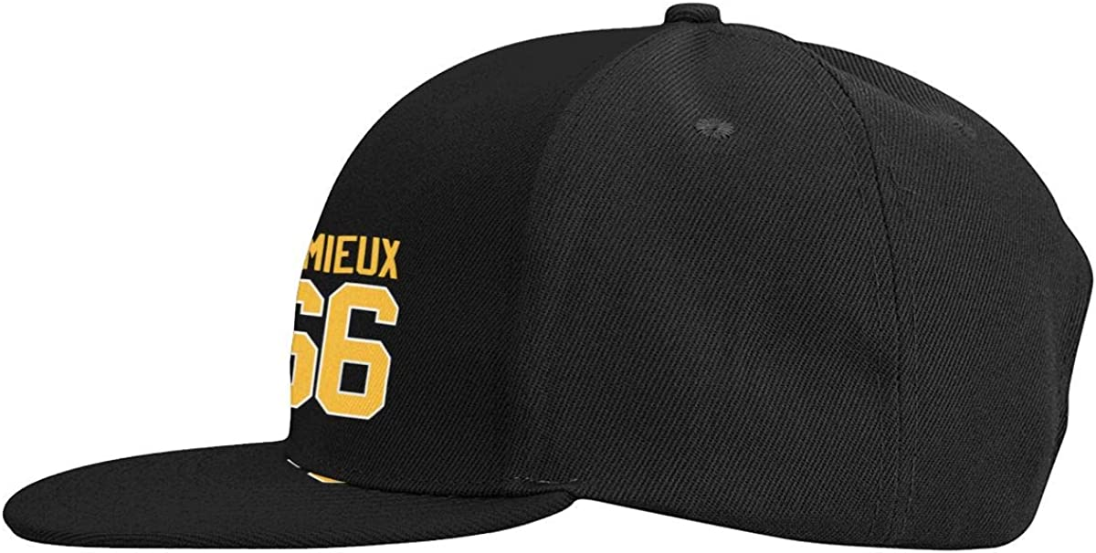 Unisex Adjustable Baseball Caps Mario-Lemieux-Logo-Art Skull Cap
