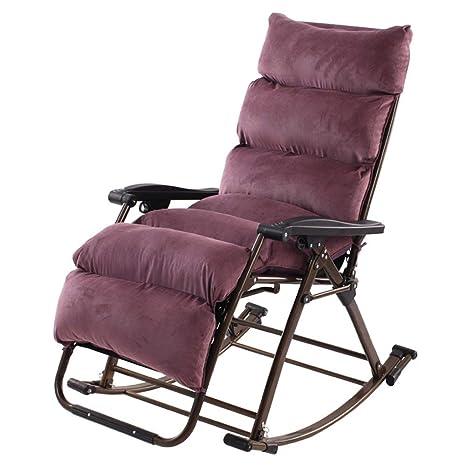 WENYAO Brisk - Mecedora Sillones reclinables Silla Plegable ...