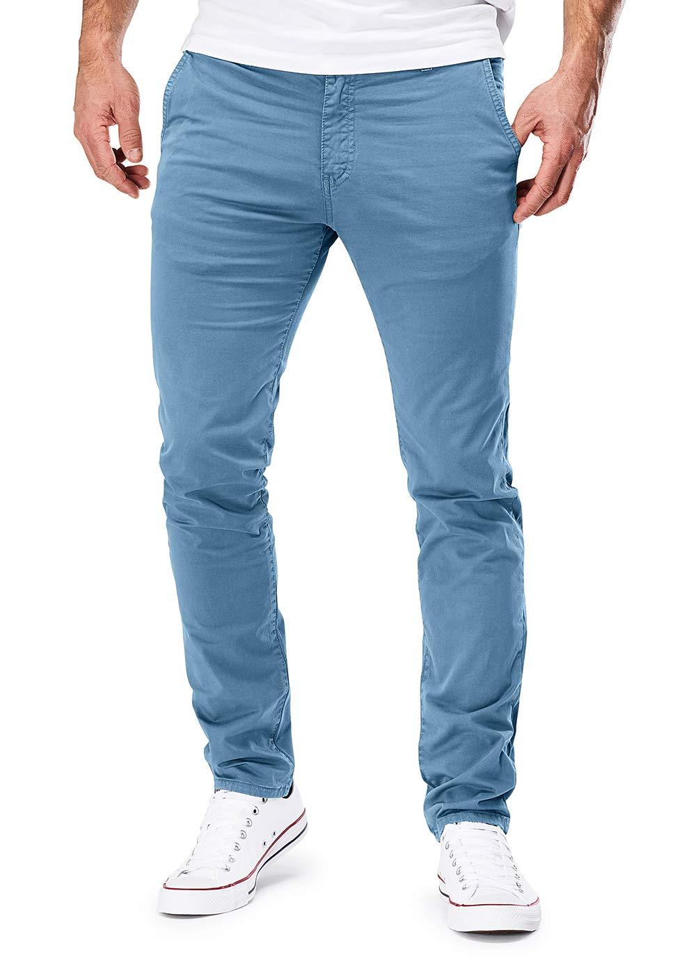 090089e2d0a Merish Pantalone Hommes Chino Slim Fit Pantalon Coton Casual et Moderne  adapté pour Toutes Les Occasions