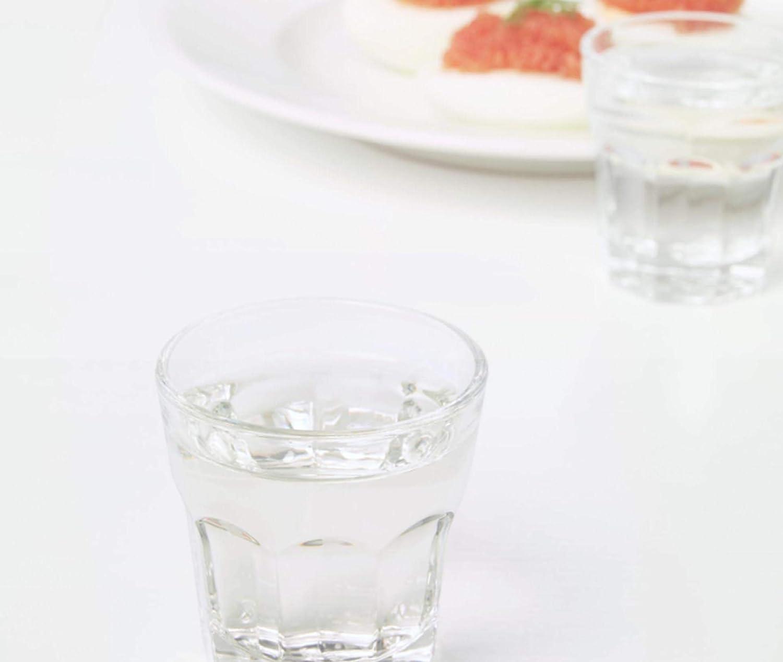 12 IKEA Pokal 2oz Snaps Jello-Shot Heavy Base Clear Glass Party Weddings Set
