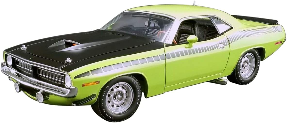 Scx digital upgradeable plymouth AAR CUDA BARRACUDA LIME GREEN Chinese limited