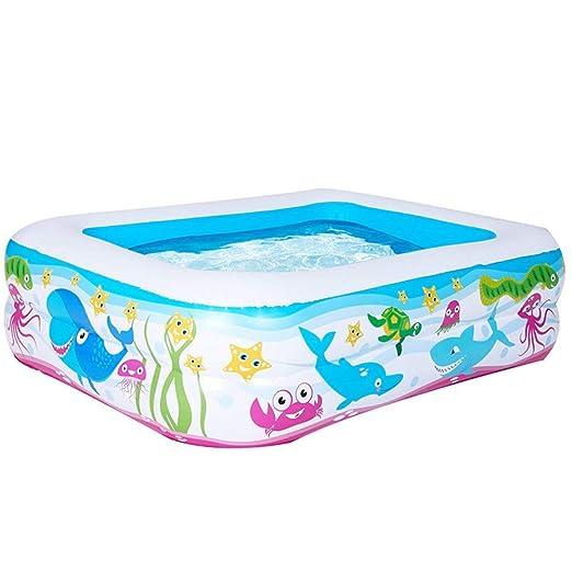 Arena piscina hinchable - Piscina para niños de la familia gruesa ...