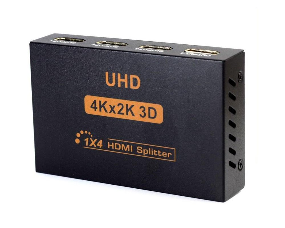Neue 2 K 4 K HDMI Splitter Box Full HD: Amazon.de: Elektronik