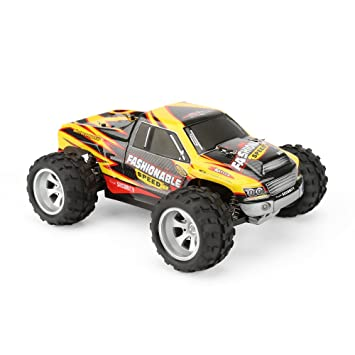 Amazon.com: FunTech Entry Level 4WD High Sd RC Truck Remote ... on traxxas rc truck sale, rc baja truck, rc truck parts, rc gas trucks sale, rc truck bodies,