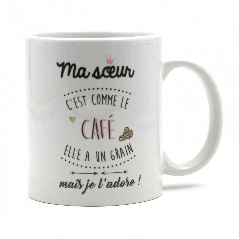 MUG SOEUR CAFE Amour Passion