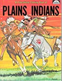 img - for An Educational Coloring Book of Plains Indians by Spizzirri Publishing Company (1981-06-02) book / textbook / text book