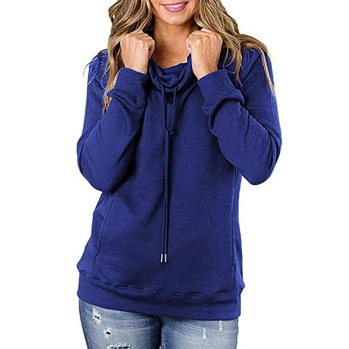 huge discount 042f7 99c3e Hanomes Damen Pullover,Damen Herbst Winter Pullover Mode ...