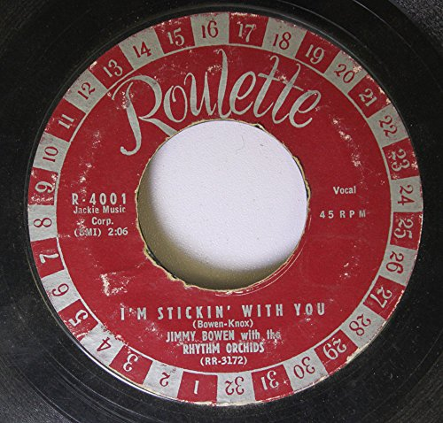 JIMMY BOWEN WITH THE RHYTHM ORCHIDS 45 RPM I