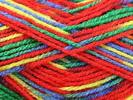 Robin Paintbox Knitting Yarn DK 231 Kaleidoscope - per 100 gram ball