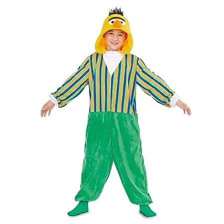 Barrio Sésamo Disfraz Pijama de Blas para niños: Amazon.es ...