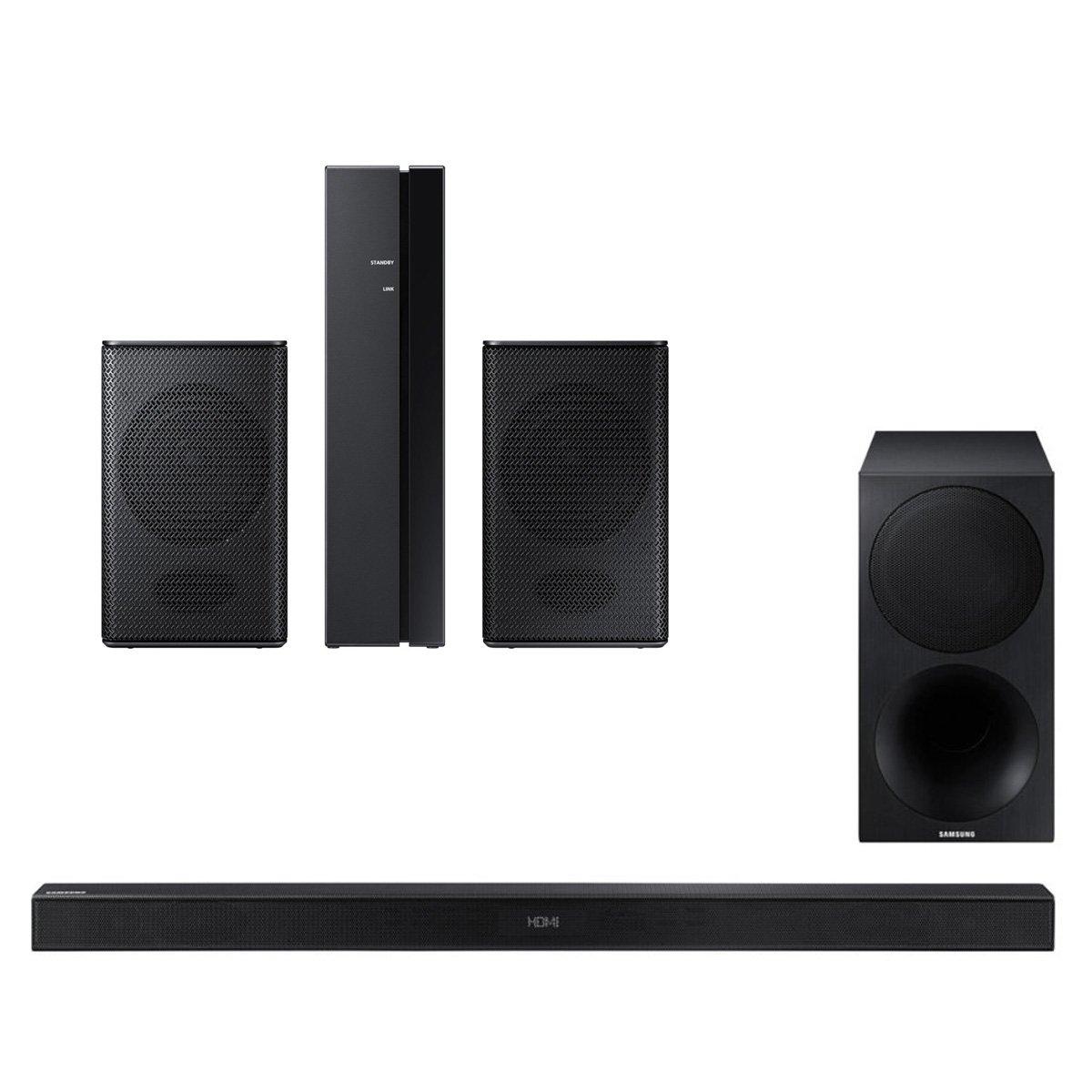 Samsung HW-M550 340W 3.1 Channel Soundbar with Wireless Subwoofer and SWA-8500S Wireless Rear Speakers Kit