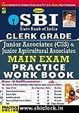 Kiran's SBI Clerk Grade Jr. Associates & Jr. Agriculture Main Exam Practice Work Book