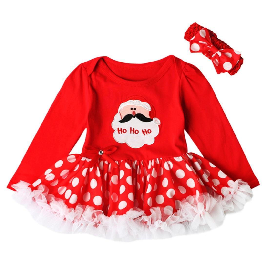 Cute Baby Infant meine erste Weihnachtsanzug Outfit Neugeborenen 1-3 Jahre