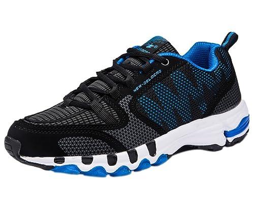 Uomo Scarpe da Ginnastica Corsa Sportive Fitness Running Sneakers Basse Interior Casual all'Aperto 39-48EU DYSMFd