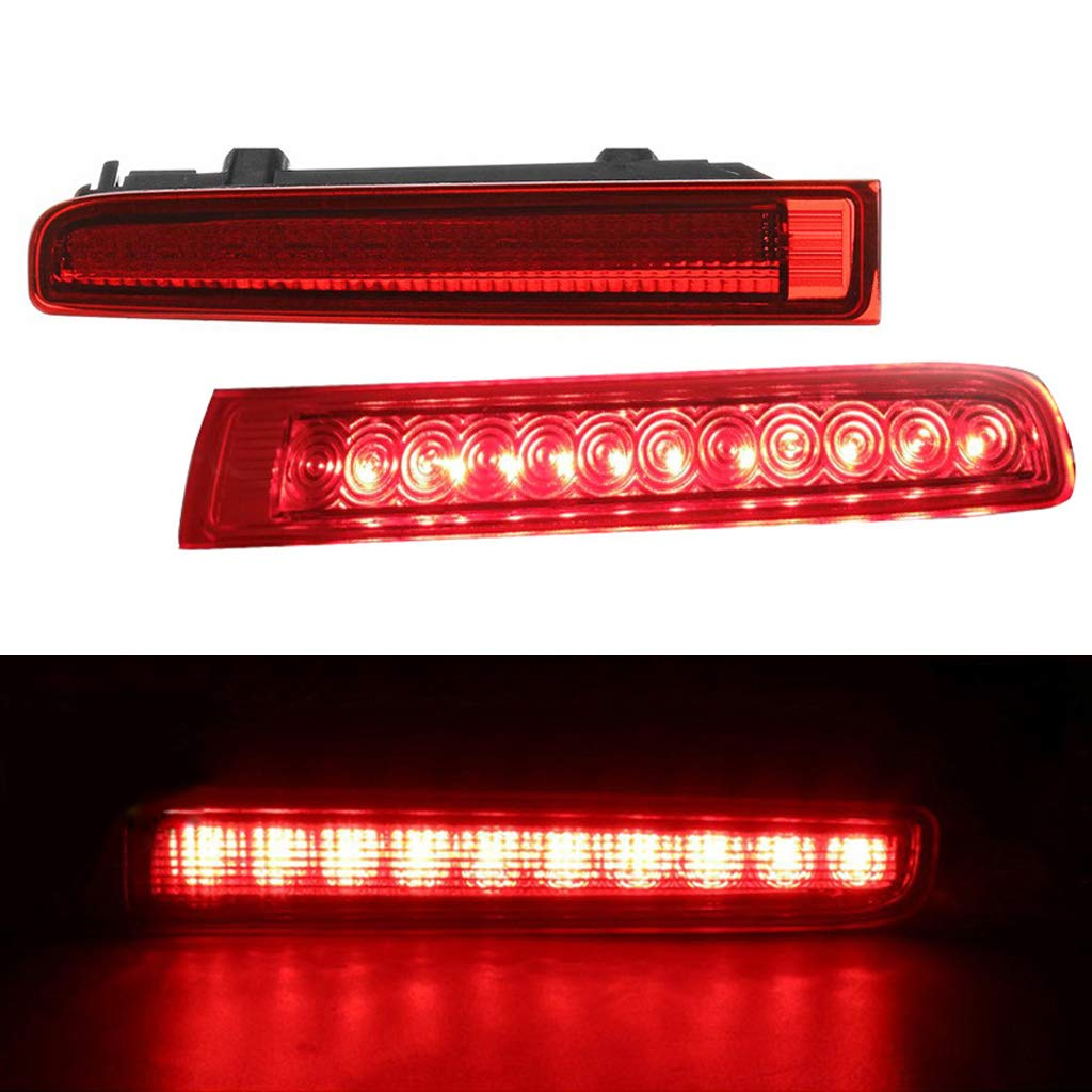 Sidougeri High Mount Stop Lamp Rear Brake Light Barn Door Car Third Brake Light