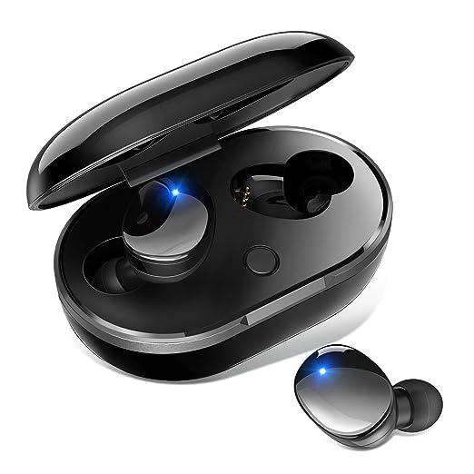 【タイムセール】Bluetooth イヤホン IPX7防水 72時間連続駆動 AAC8.0 CVC8.0ノイズキャンセリング ワイヤレス イヤホン 自動接続 自動ON/OFF iPhone/Android対応