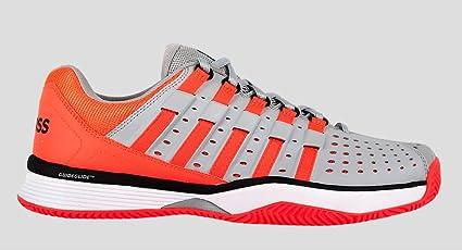 Kswiss HYPERMATCH HB Naranja Fluor Gris: Amazon.es: Zapatos y complementos