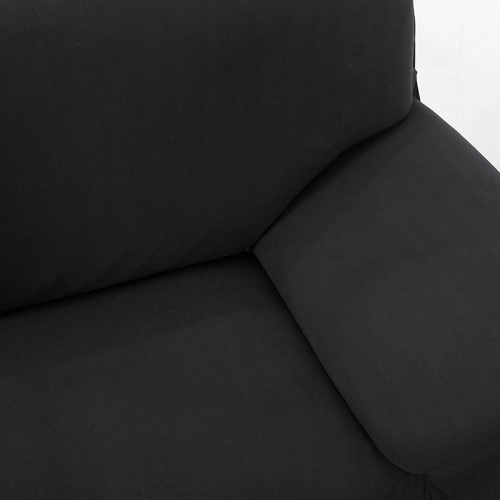 145-185cm Housse de Canap/é Salon Couverture Extensible Spandex Souple D/écor Confortable , Marine 2 Places