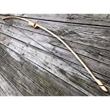 """45/50lb 64"""" Traditional Hickory Longbow! Competition or Hunting Bow! Wood Archery!"""
