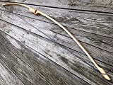 "40/45lb 64"" Traditional Hickory Longbow! Competition or Hunting Bow! Wood Archery!"