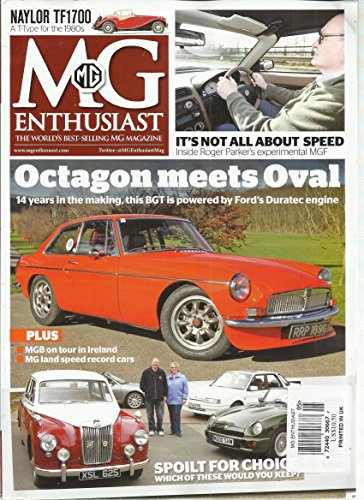 Mg Enthusiast Magazine May, 1987 Volume, 44 Number 5