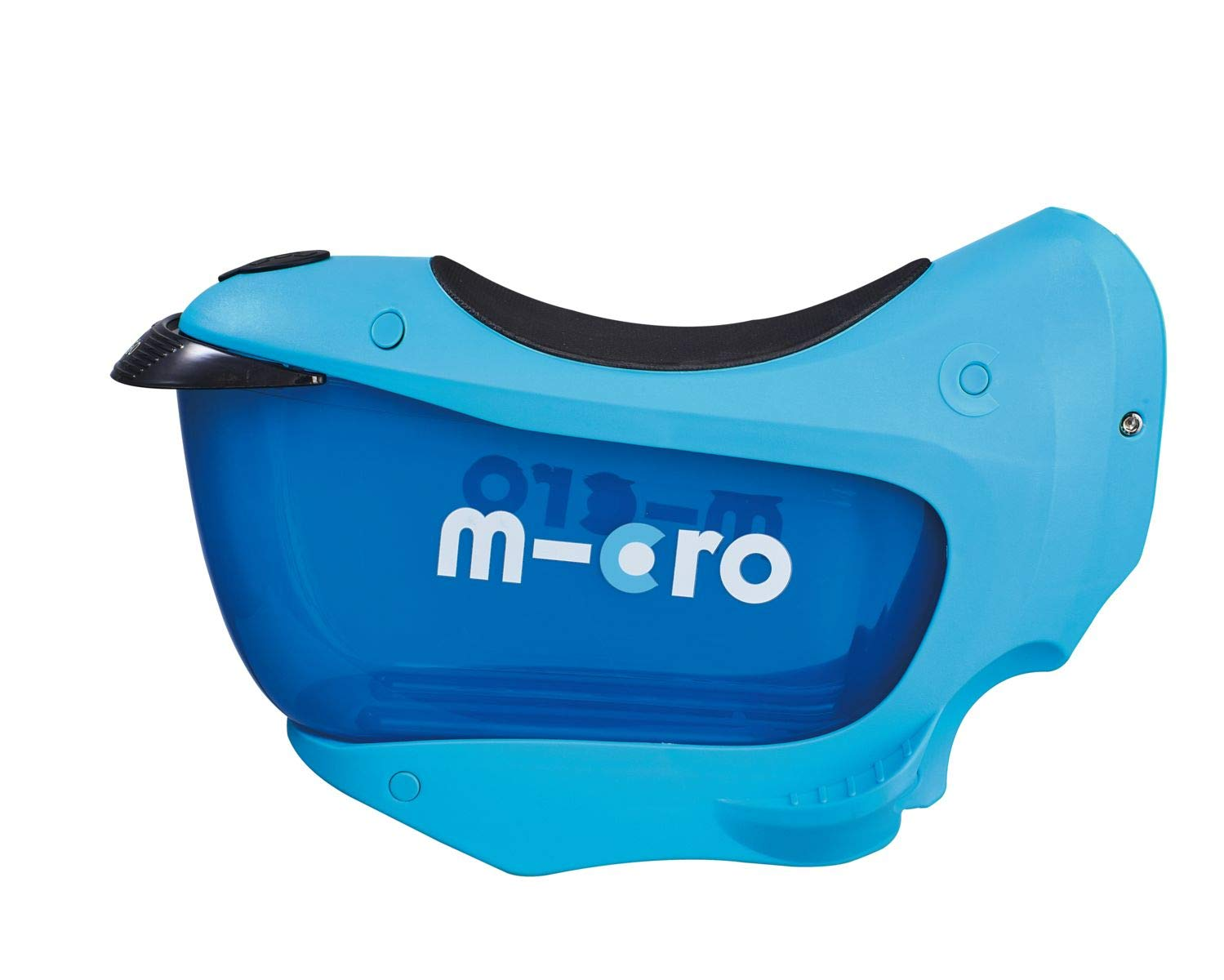Micro Mini 2 Go Deluxe Plus Blue Ride On Scooter Seated Light Up Drawer Toddler Nursery 3 Wheeled Mini