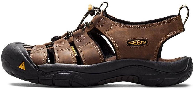 Henna  Sport Sandal WATERPROOF Boys size 12 NIB Keen NEWPORT H2 Brown