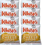 Whisps Cheddar Cheese Crisps, Single Serve Bags, Pack of 8 (.63oz/bag Review