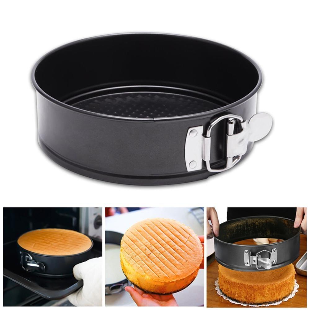 Springform Pan, KOBWA 7 inch Non-Stick Springform Pan Cheesecake Pan/Leakproof Cake Pan Bakeware, Instant Pot Pressure Cooker Accessories Cake Pan