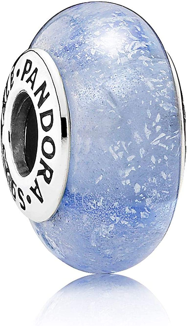 Pandora Charm 925 Silber Disney, Cinderella´s Murano-Glas 791640