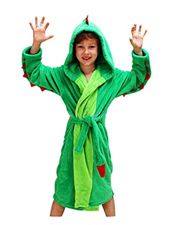 Woneart Albornoz Niña Camisones Novedad Disfraz de Peluche Animales Ropa De Dormir con Capucha Baño Costume