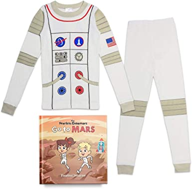 Boys Pyjamas Sets Nightwear Cotton Toddler Clothes Kids Astronaut Shark Space Sleepwear Long Sleeve Pjs 2 Piece Outfit Xmas Gift