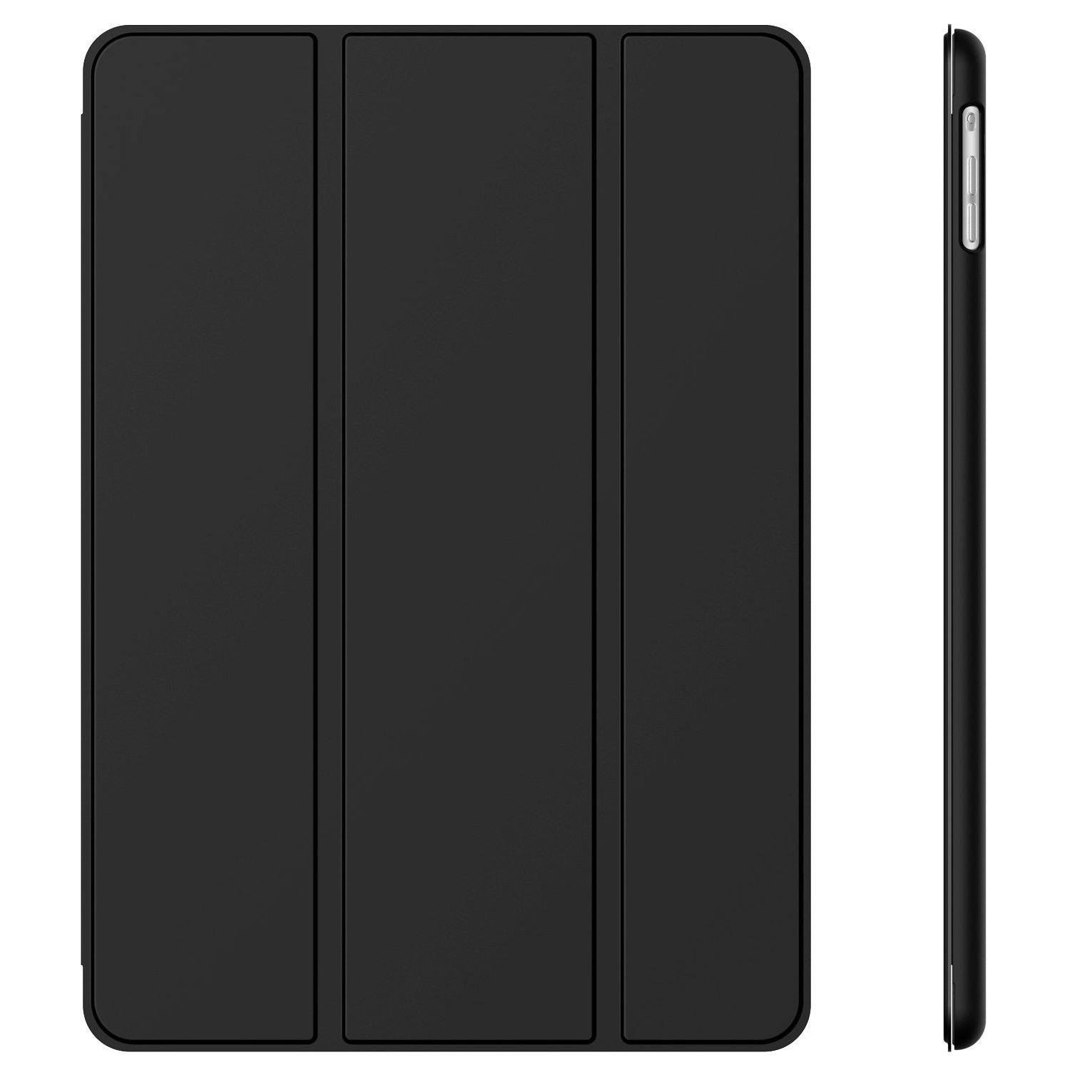 JETech Case for Apple iPad Air 1st Edition (NOT for iPad Air 2), Smart Cover with Auto Wake/Sleep, Black