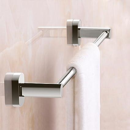 LVLIDAN Soporte Colgador de Toallas de baño rampa Toallero Todas de Estilo Simple de una Sola