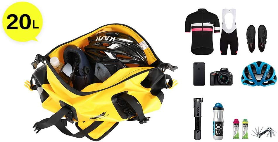 impermeabile Borsa per portapacchi da bicicletta Wildken per mountain bike bici da corsa