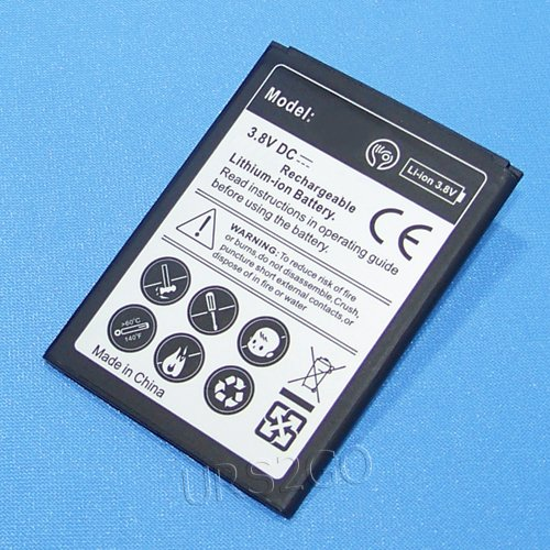High Capacity 2800mAh Extended Slim Battery for T-Mobile Samsung Galaxy S Relay 4G SGH-T699 Smartphone