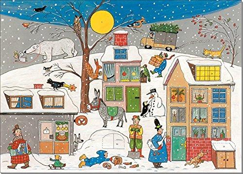 Adventskalender 'Weihnachten in Wimmlingen': 24 Türchen mit kleinen Bildergeschichten
