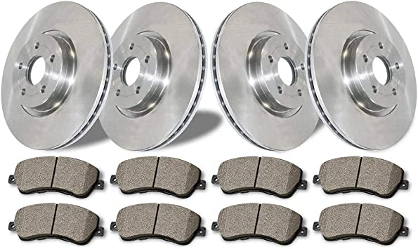 Front And Rear Ceramic Brakes For Toyota Prius