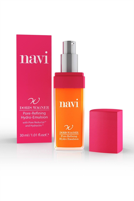 NAVI Serum Facial Refinador de Poros / Suero con Aceite de Ricino & Vitamina A / Hidratante, 100 ml: Amazon.es: Belleza