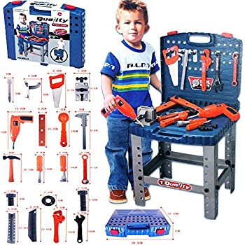 Amazon Com American Plastic Toy My Very Own Tool Bench Toys Amp Games