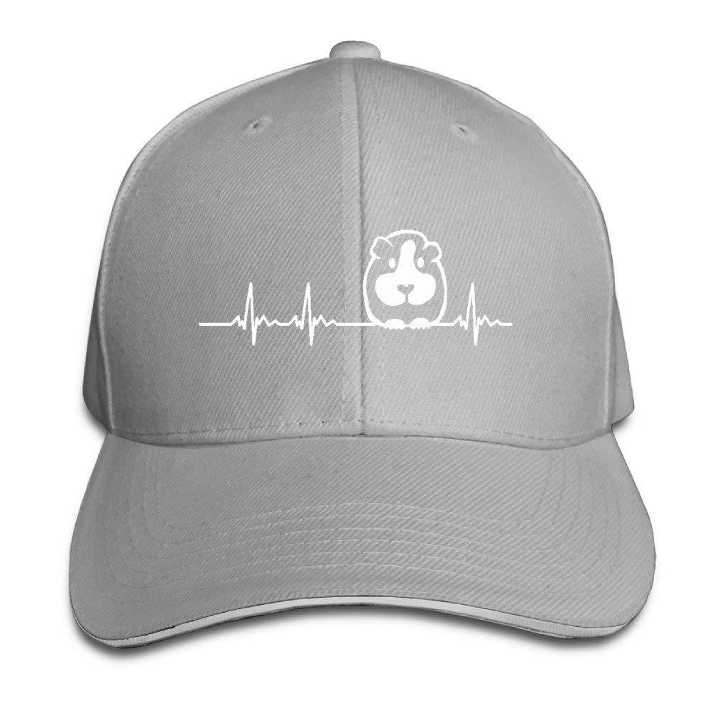 wuhgjkuo Guinea Pig Heart Baseball Cap Polo Style Adjustable Cotton Baseball