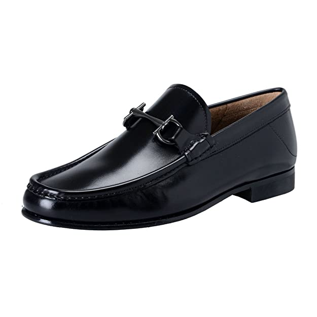 Salvatore Ferragamo - Mocasines Hombre, Color Negro, Talla 39,5 EU: Amazon.es: Zapatos y complementos