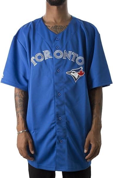 Majestic Camisa Manga Corta MLB Toronto Blue Jays Jersey Azul Talla: XXL (XX-Large): Amazon.es: Ropa y accesorios
