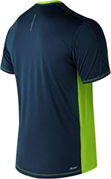 New Balance Camiseta MC Accelerate Polo, Hombre, hilite, S: Amazon ...