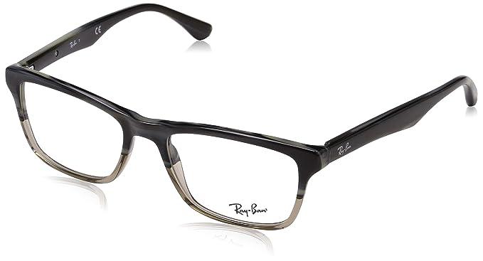 689c3e28430d4 Amazon.com  Ray-Ban RX5356 - 5767 Eyeglasses Brown 54mm  Clothing
