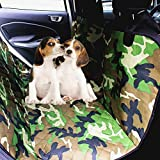 Goandstop Pet Seat Cover Waterproof & Non-Slip Dog Hammock Cover For Cars Universal