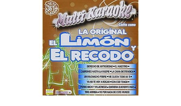 Banda Original Limon Y La Recodo - Multi Karaoke: Canta como La Original el Limon y el Recodo - Amazon.com Music