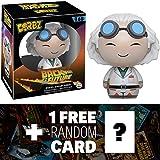 Dr. Emmett Brown: Funko Dorbz x Back to the Future Vinyl Figure + 1 FREE Classic Sci-fi Movie Trading Card Bundle (086961)