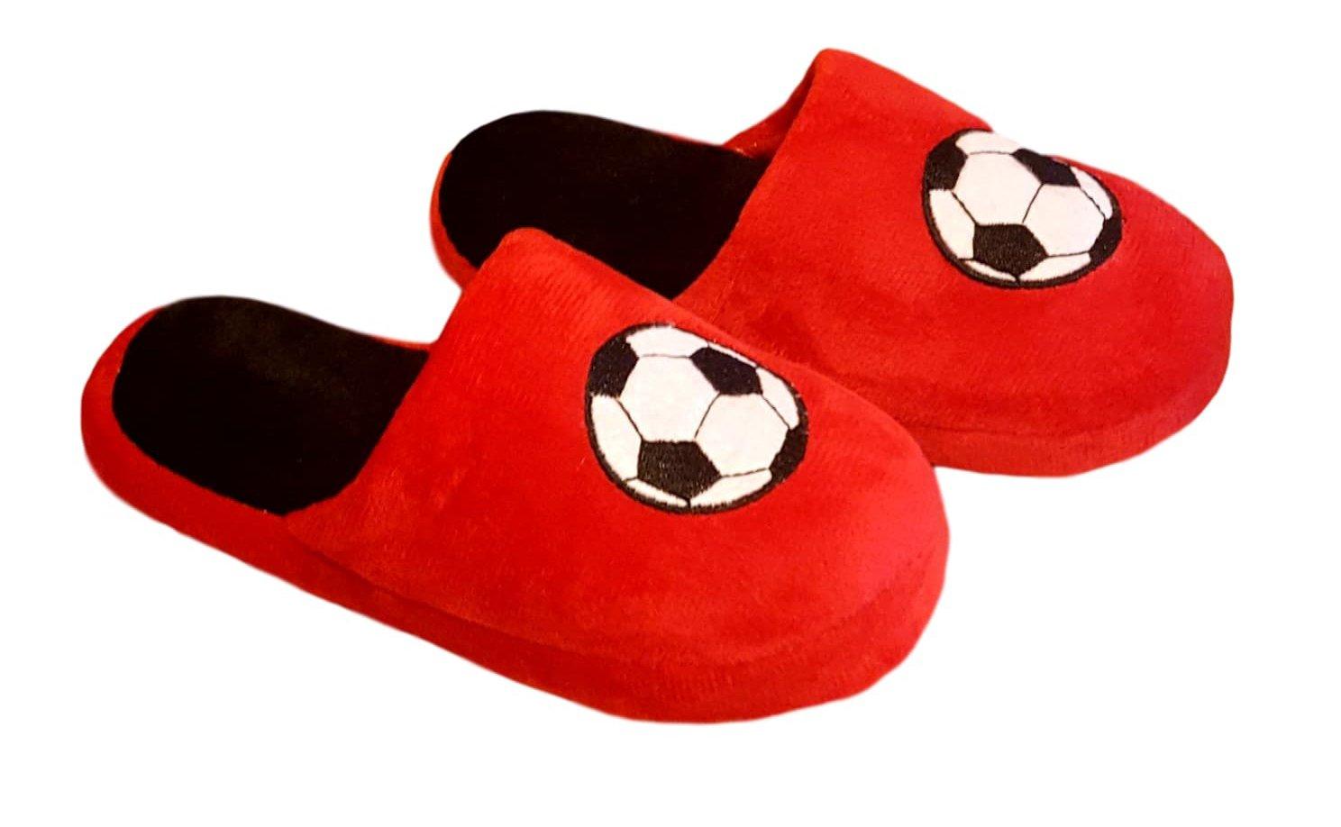 Children Kids Boys Soccer Football Slipper